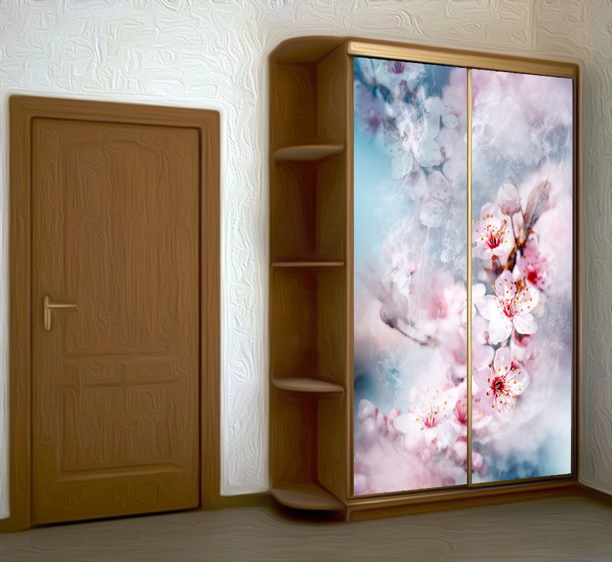 Wardrobe Stickers - The air is filled with tenderness by X-Decor