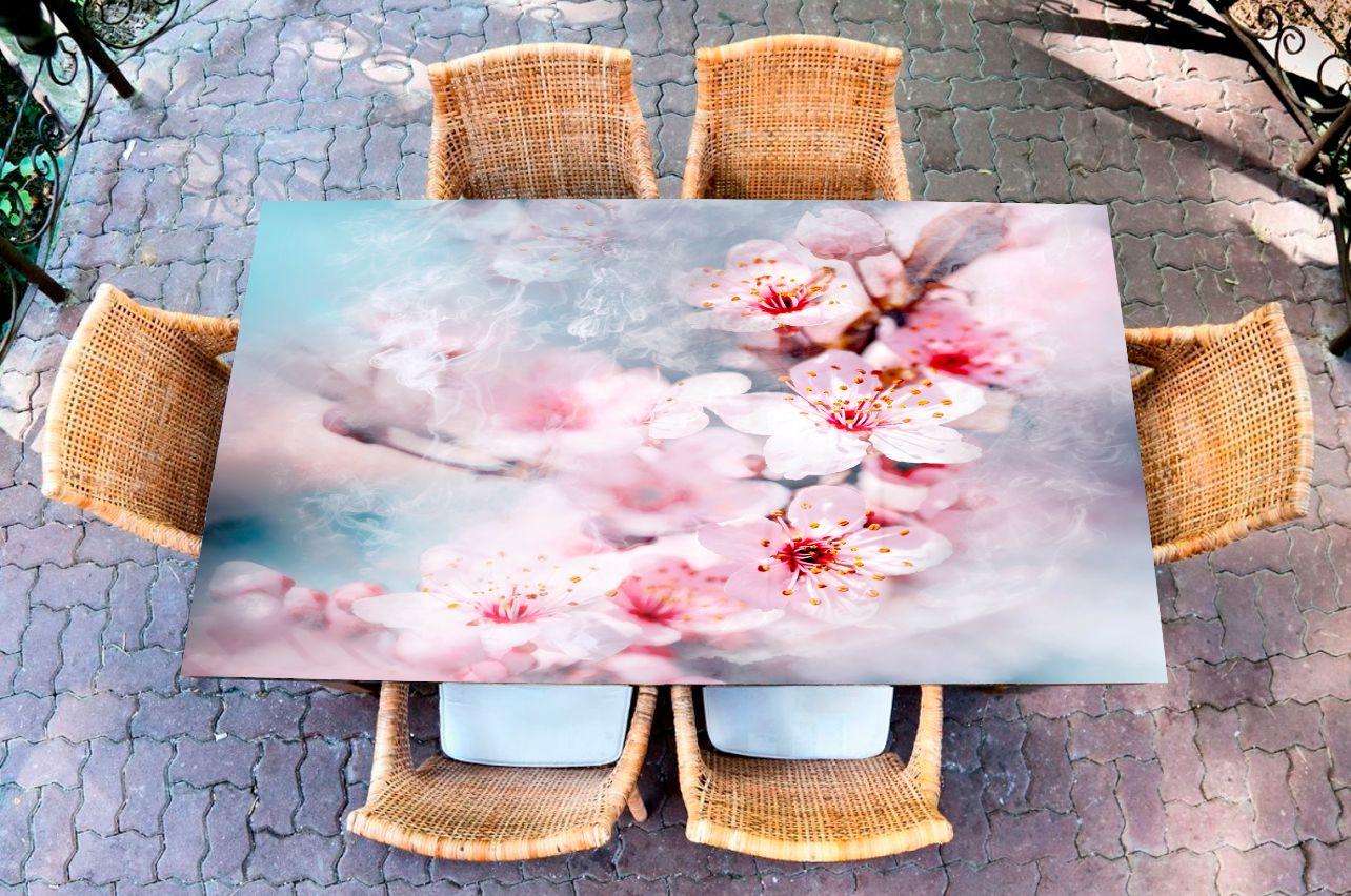 Наклейка на стол - Воздух пропитан нежностью | фотопечать на стол в магазине Интерьерные наклейки
