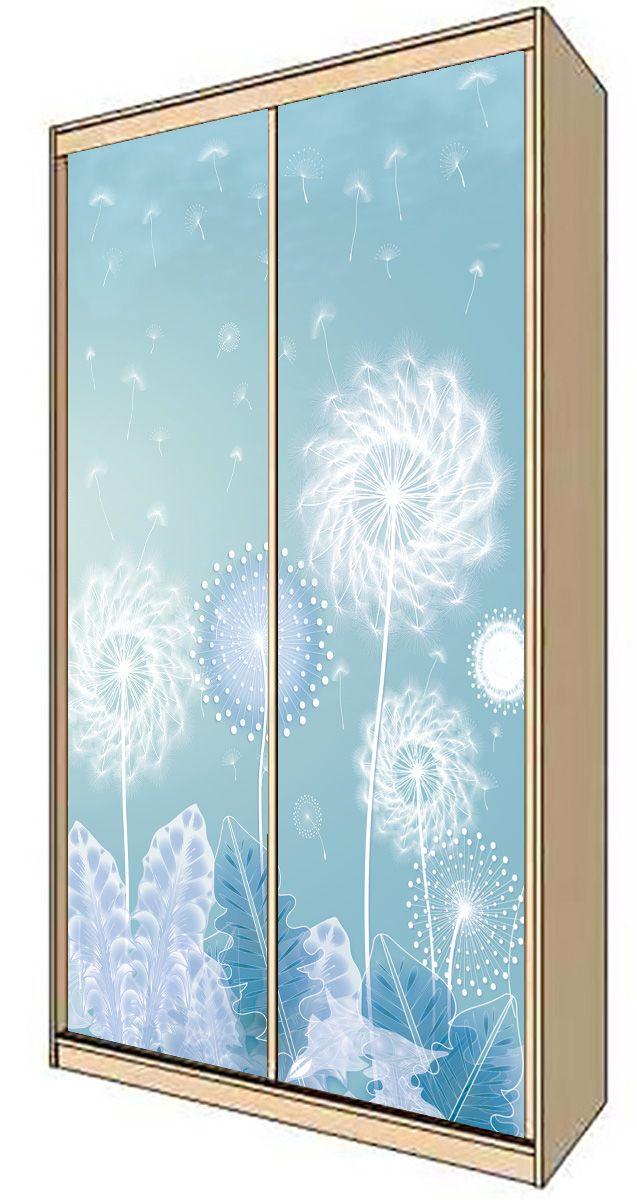 Wardrobe Stickers - The delicate beauty of a dandelion by X-Decor