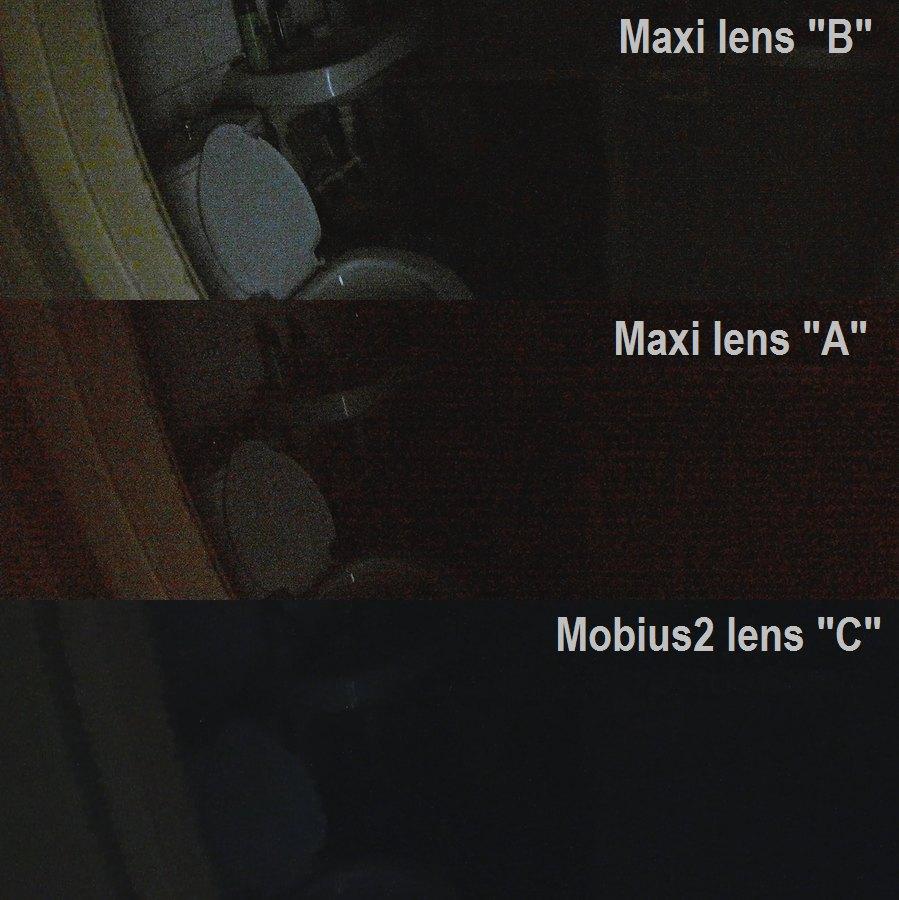 Maxi кадр в темноте