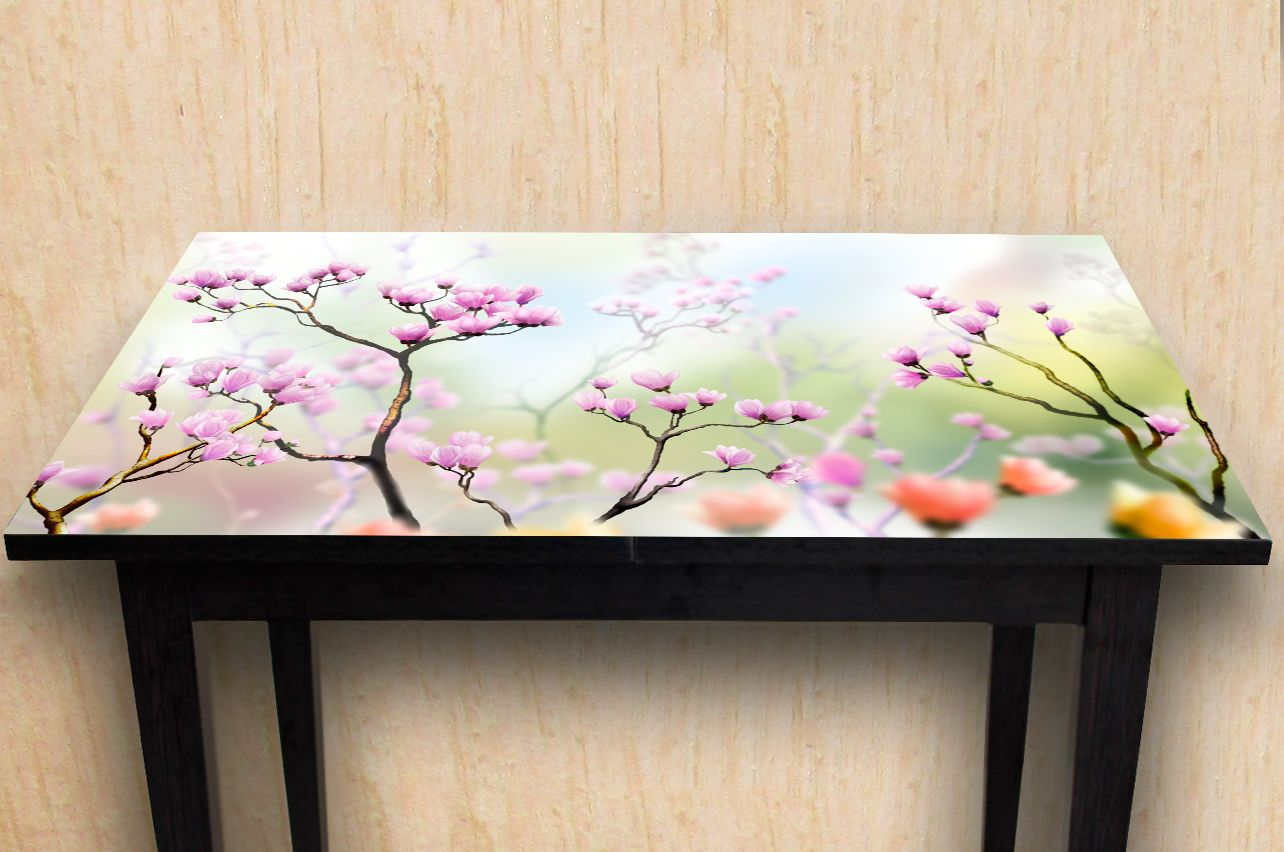 Stickers a Table - The art of flowering | Buy Table Decals in x-decor.com