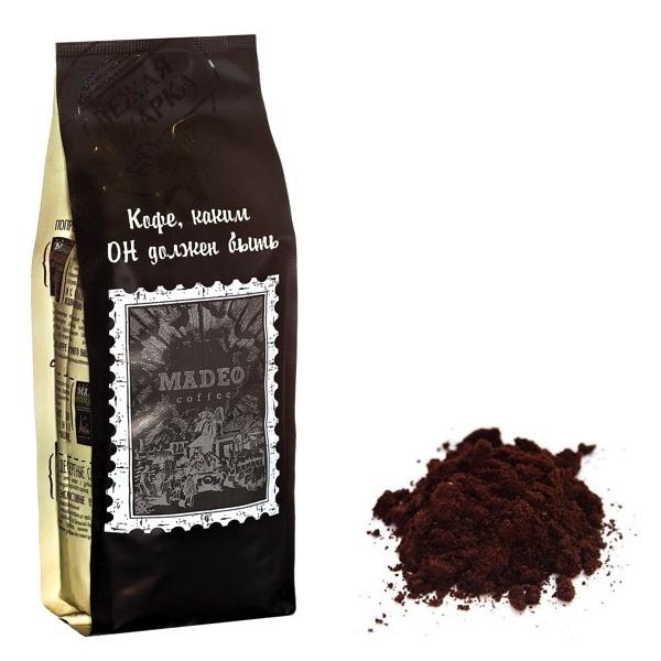 Упаковка молотого кофе весом 0,2 кг