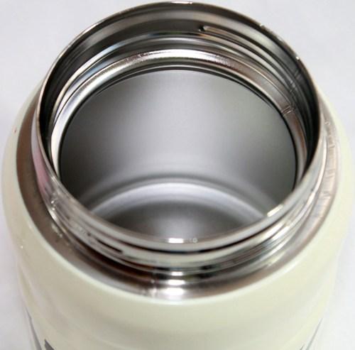 Ланч-бокс суповой Truehas 460 мл с ложкой - стальное горло