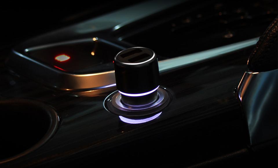 Автомобильное зарядное устройство ZMi Car charger AP821 особенности