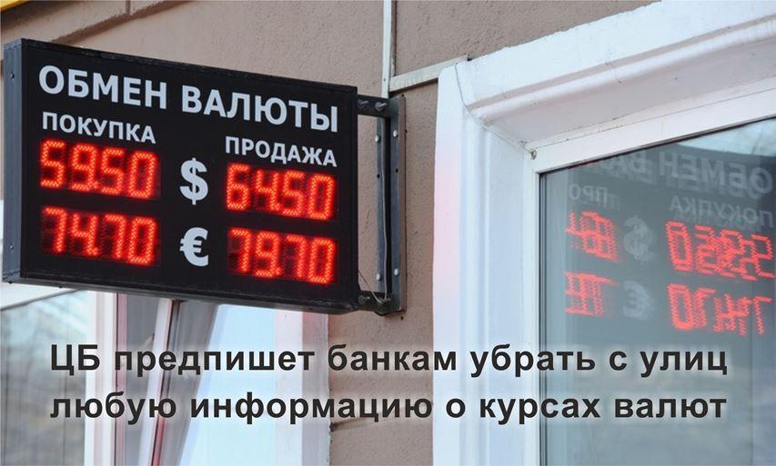 ЦБ курсы валют