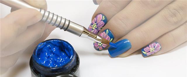 Набор гель краски для дизайна ногтей