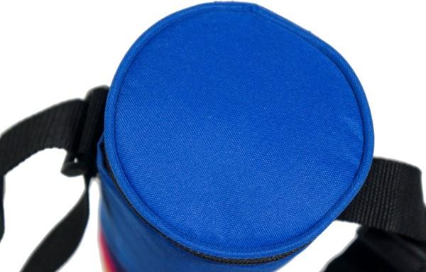 Изотермическая термосумка для бутылок - крышка на молнии