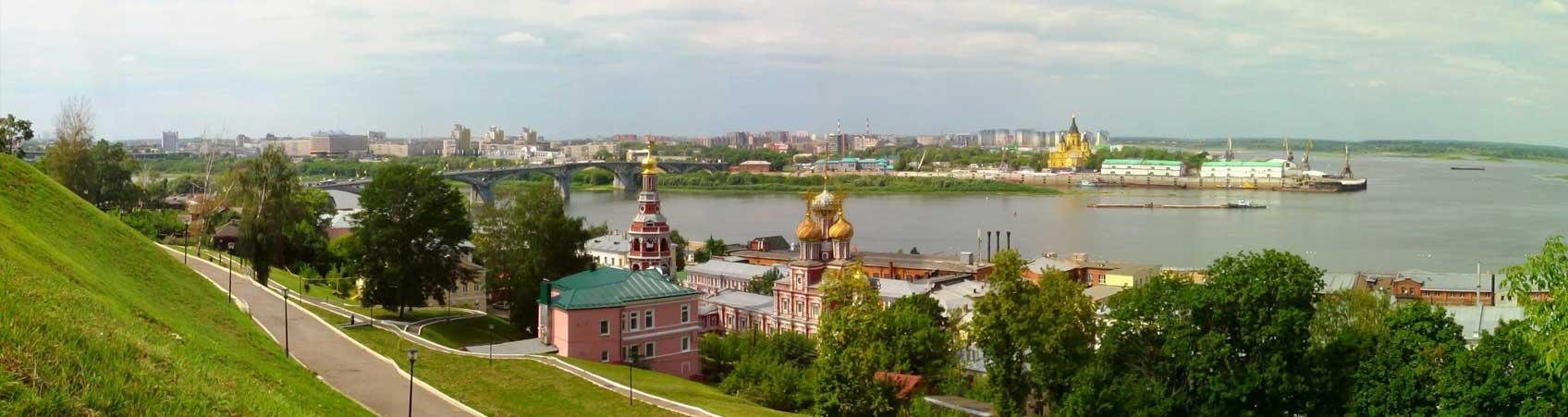 Нижний Новгород - Волжская стрелка