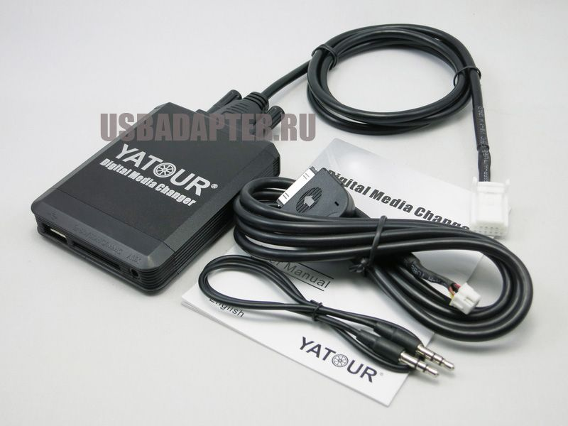 MP3 USB iPhone/iPod адаптер TOYOTA 6+6 YATOUR  YT-M07