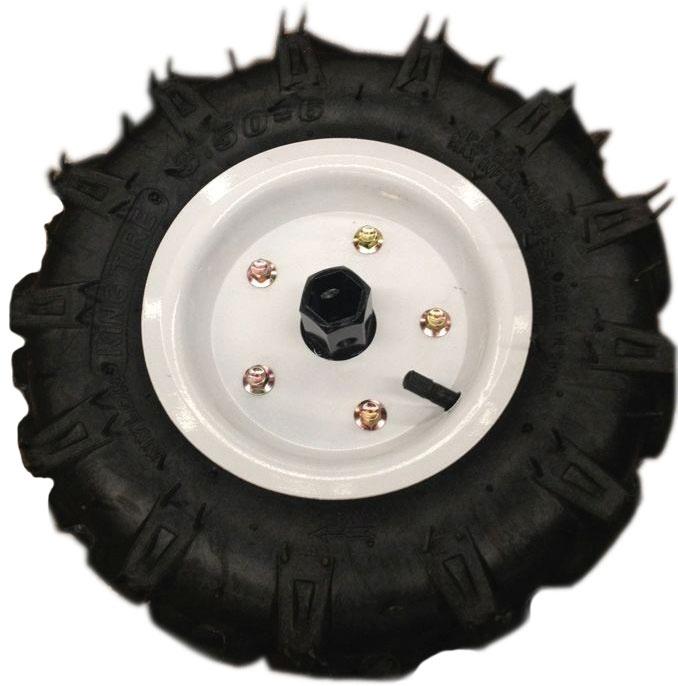 Резиновое колесо для мототележки