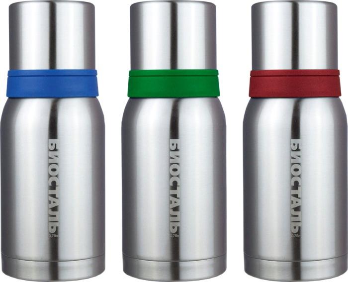 Классический термос Биосталь NBA для напитков - варианты цвета