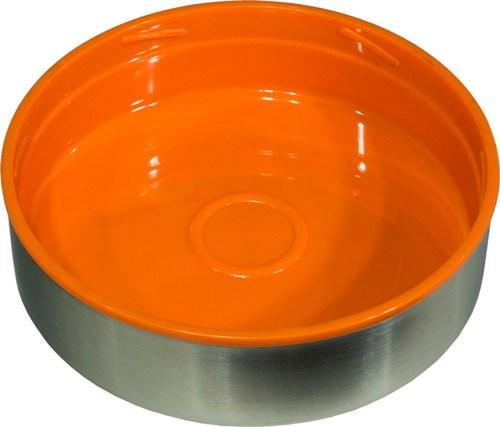 Термос Steel Food L 2,6 литра с тремя ёмкостями для еды - крышка-миска
