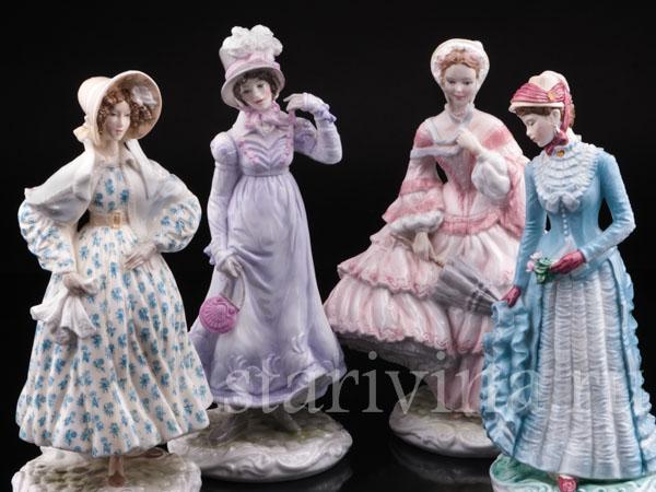 Фарфоровые статуэтки девушек фото