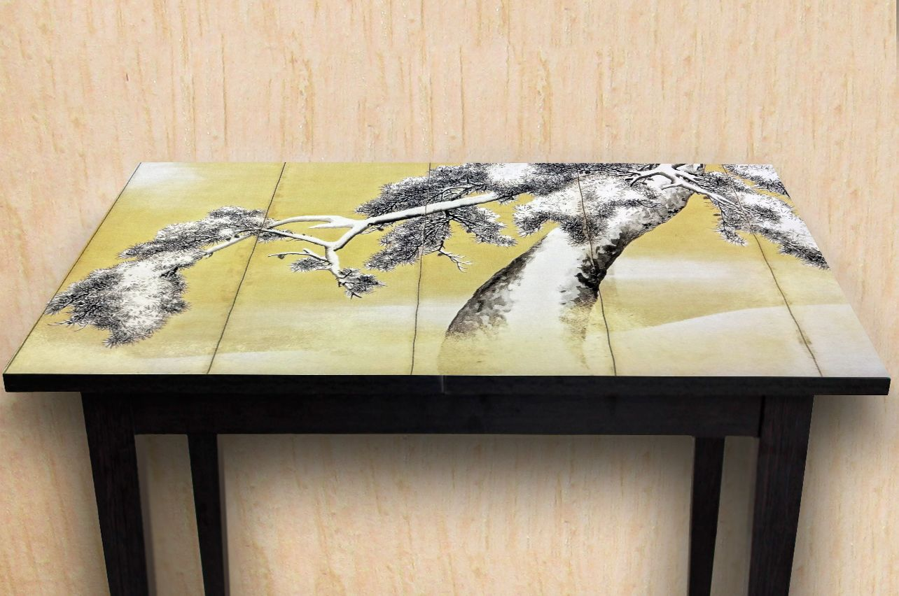 Stickers a Table - Pine snow | Table top Decals in x-decor.com
