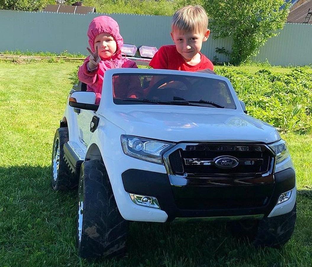 Отзыв о покупке детской машины Ford