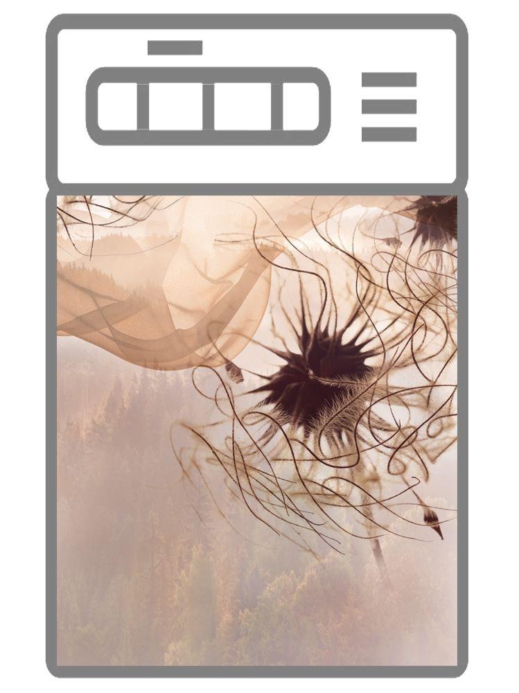 Наклейка на посудомоечную машину  - Пролетая над миром | Интерьерные наклейки