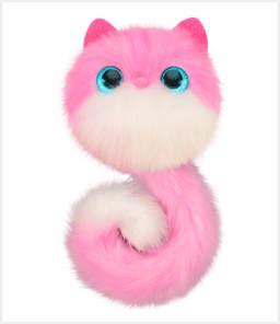 Котята Помси Pomsies Pinky Пинки Светло-розовый с белой мордочкой. Добрая и застенчивая кошечка. Скидка 52% Была цена 3000 руб, сейчас 1490 руб