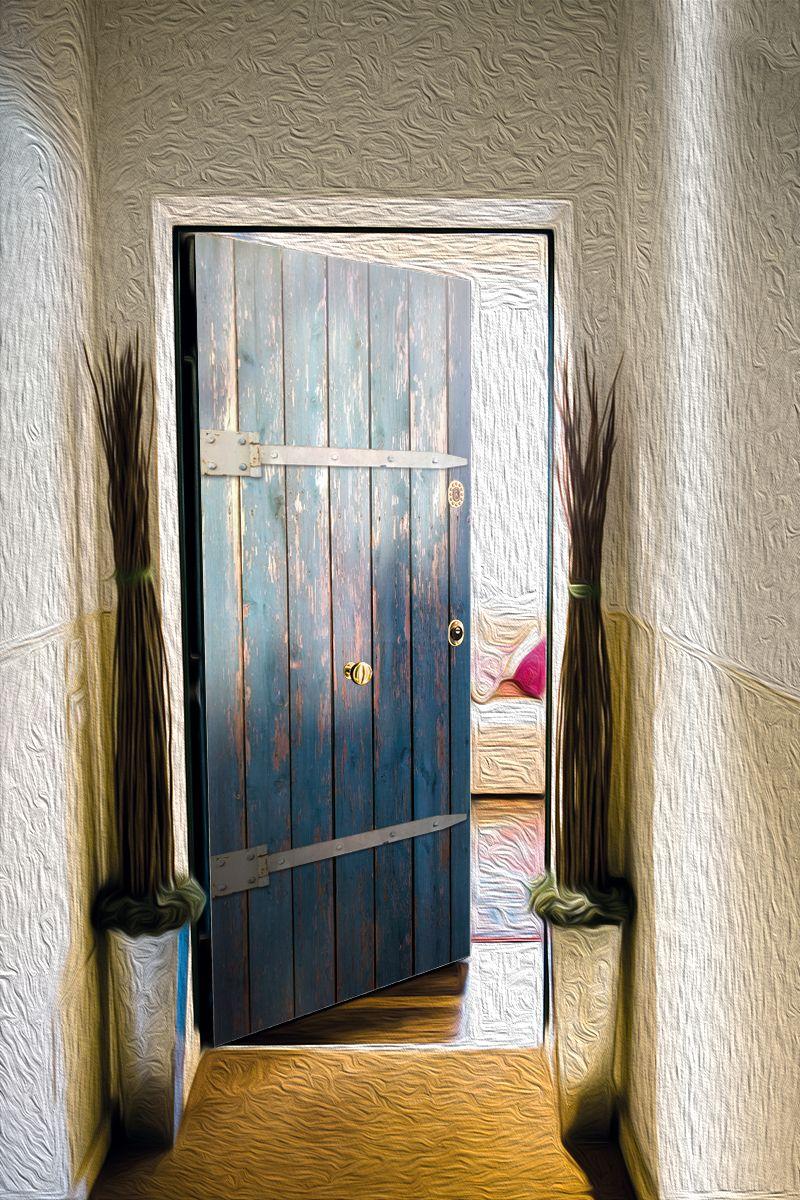Наклейка на дверь - Лабаз | магазин Интерьерные наклейки