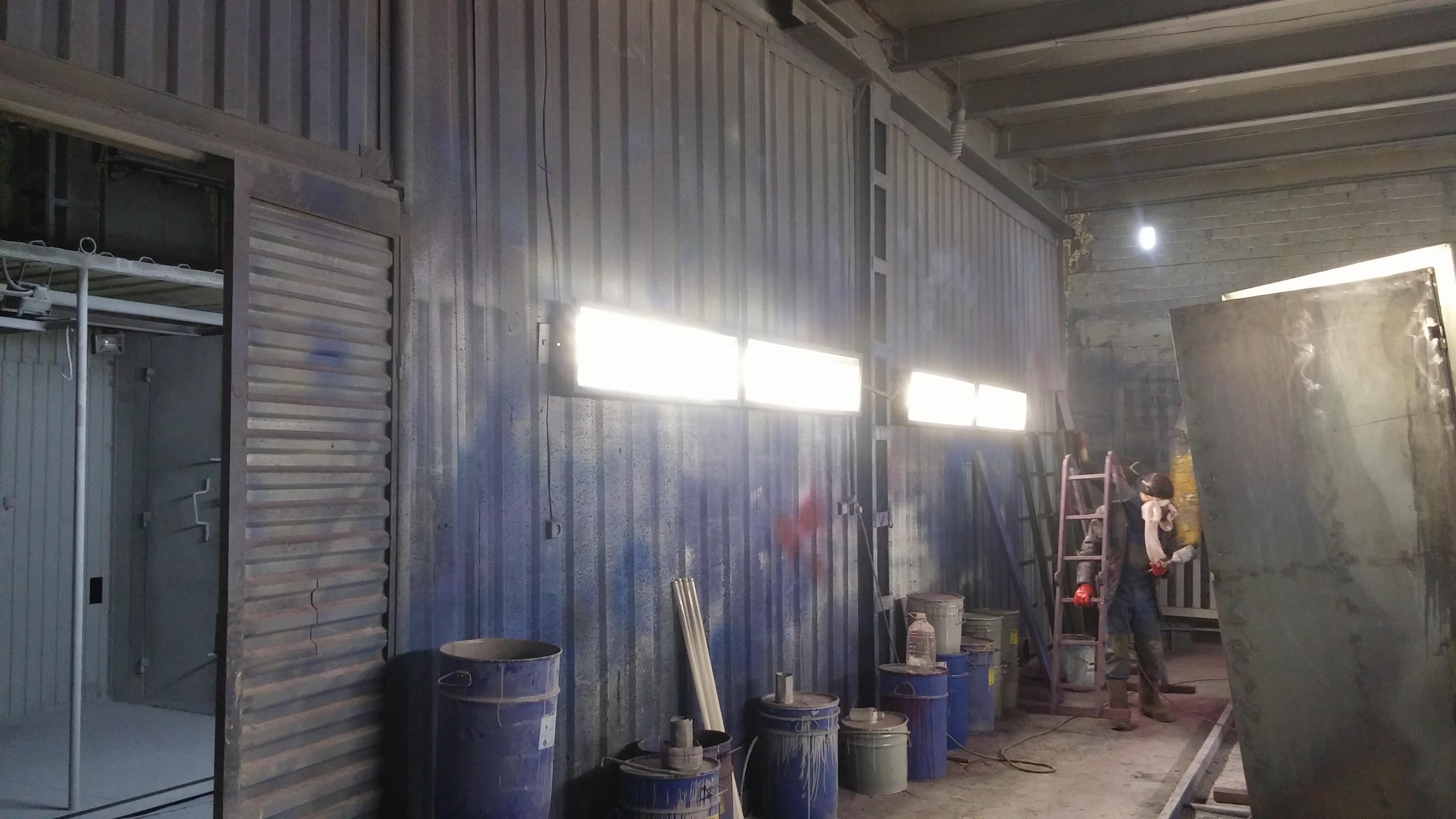 как рассчитать led освещение для цеха