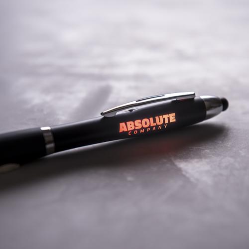 ручки с подветкой логотипа