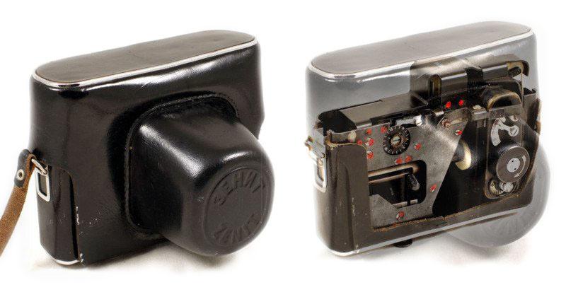 Самая необычная советская шпионский фотокамера