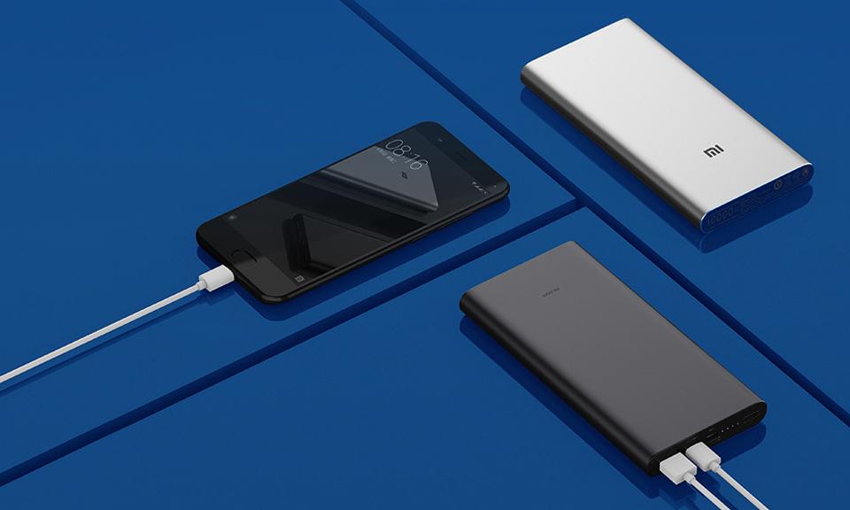 Универсальная батарея Xiaomi Mi Power bank 3 10000mAh зарядка девайсов