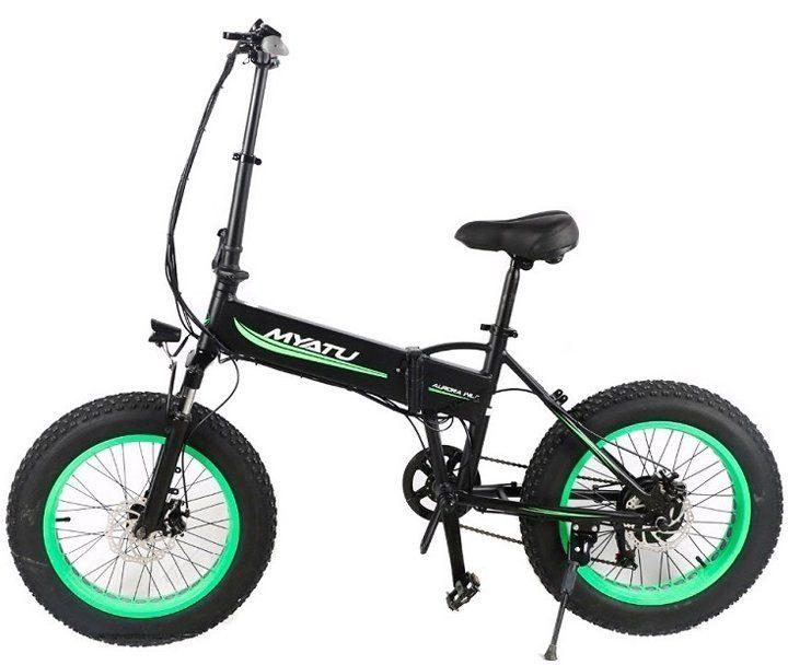 электро велосипед 500w-48v myatu