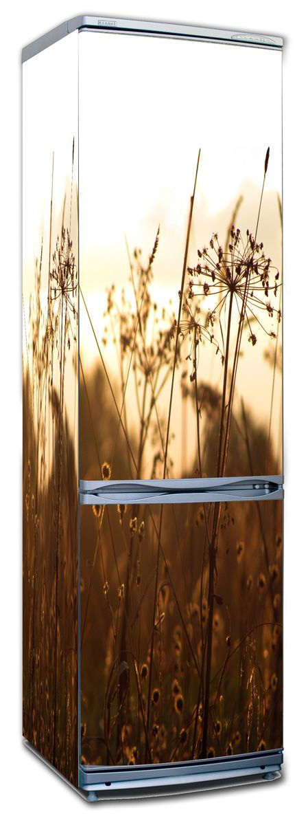 Наклейка на холодильник - На закате купить в магазине Интерьерные наклейки