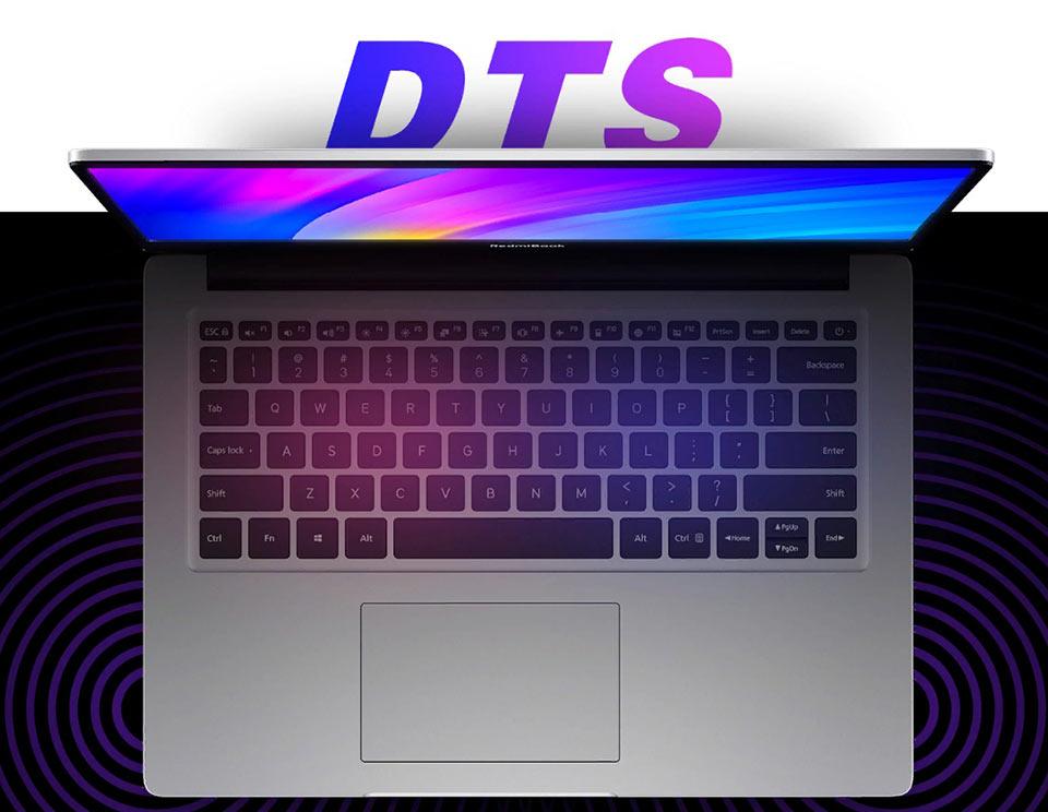 RedmiBook 14 мощные динамики