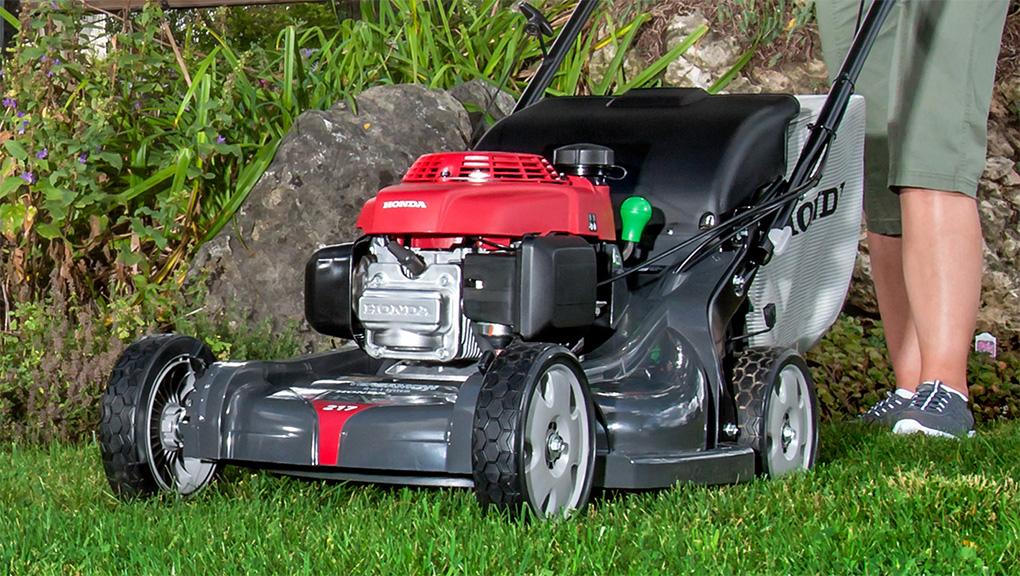 Газонокосилки Honda тихие и мощные