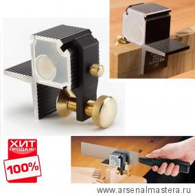 Стусло Veritas Right-Angle Saw Guide для прямых шипов магнитное