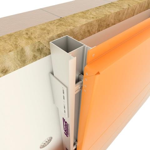 Вентилируемые фасады из алюминиевых кассет для высотных зданий