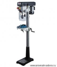 Напольный профессиональный сверлильный станок 0,55 кВт 230 В (дерево / металл / пластмасса) JET JDP-13FM 10000440M
