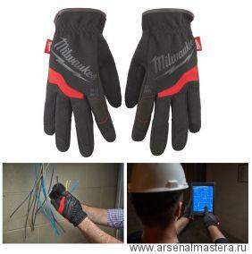 Перчатки рабочие мягкие 8 / M 1 шт размер M Milwaukee Free Flex Gloves-M/8 -1pc 48229711