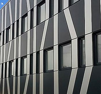 Алюминиевые фасадные кассеты