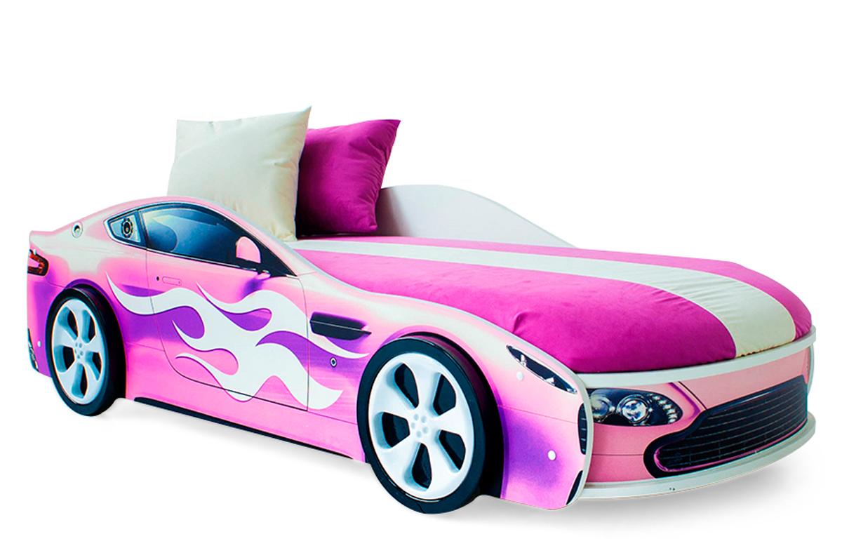 Розовый Бондмобиль