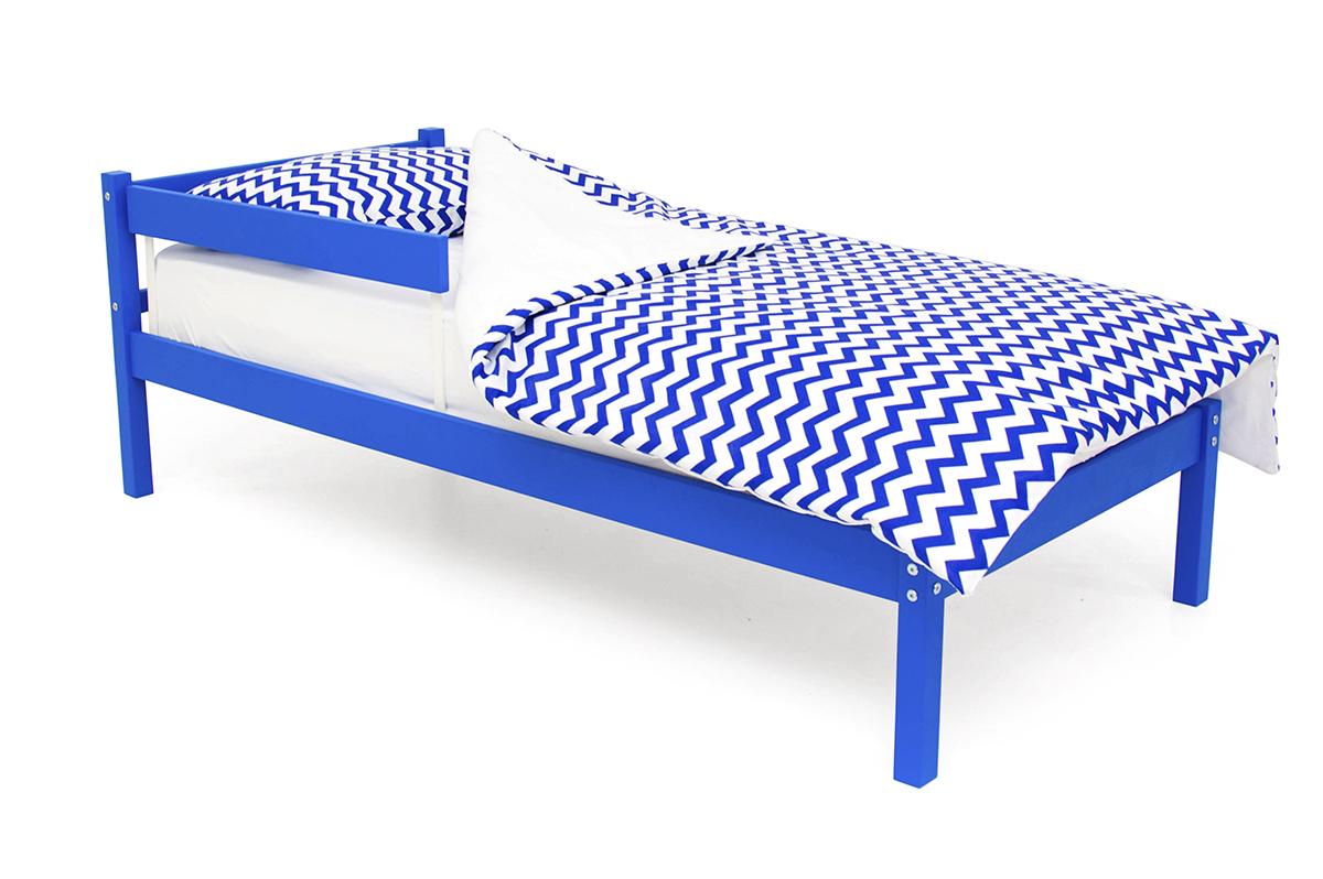 кровать детская синий