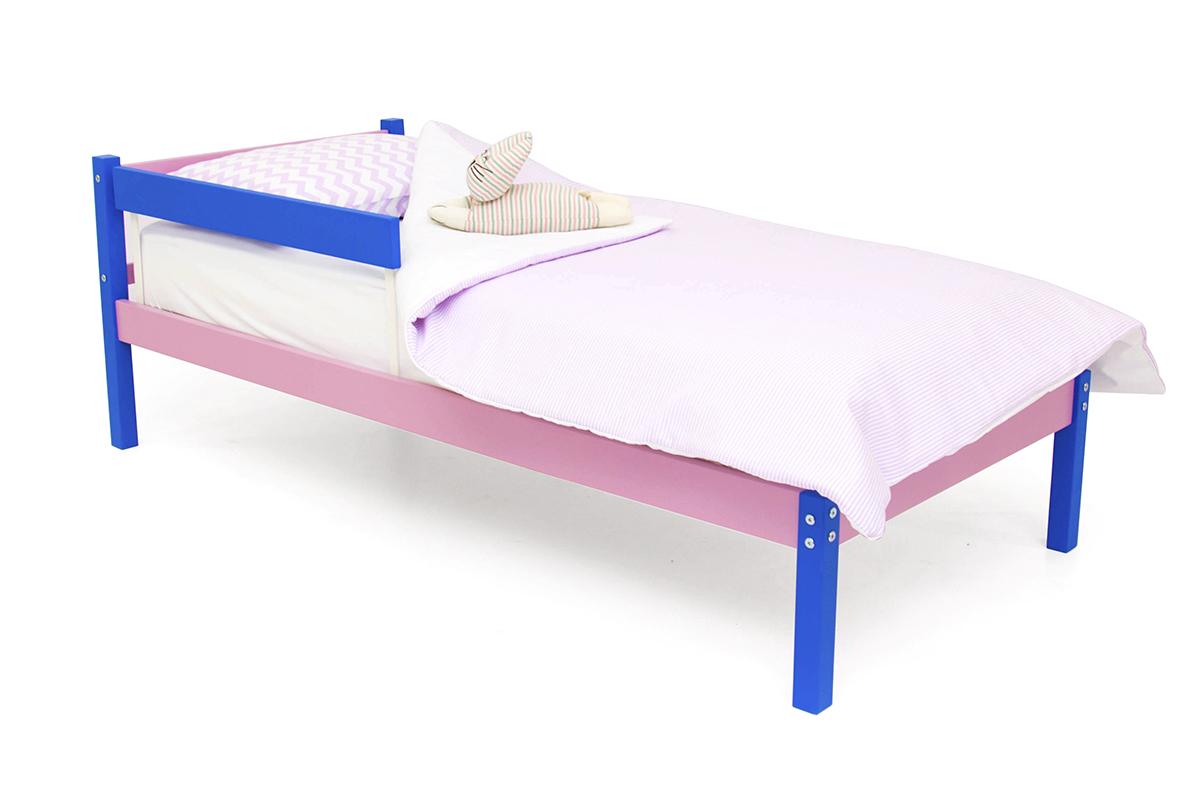 кровать детская синий-лаванда