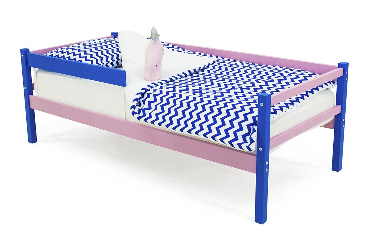 кровать-тахта синий-лаванда