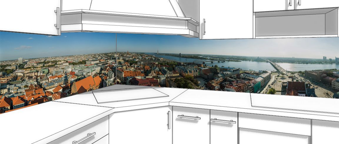 Kitchen Backsplash - Riga