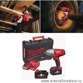 Аккумуляторный импульсный гайковерт Milwaukee HD18 HIW-402С ПЛЮС Аккумулятор 2 шт ПЛЮС Зарядное устройство 4933441260
