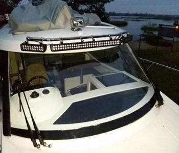 светодиодная балка на лодку