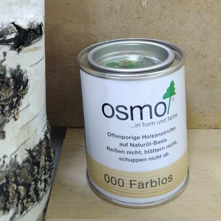 Высокая защита от влаги с прозрачной лазурью Осмо Klar-Öl Lasur