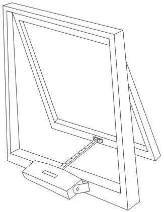 Цепной привод окна O2M (APRIMATIC)