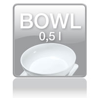 KS 29 kitchen scale: Bowl 0,5l