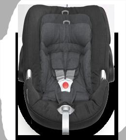 8-позиционным регулируемый по высоте подголовник - для идеальной защиты, растущей вместе с малышом