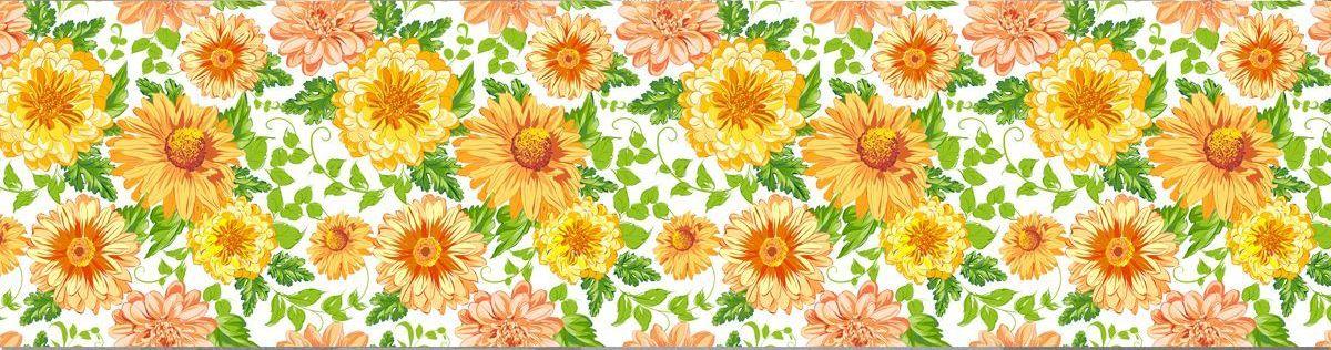 Фартук кухни - Цветочный мотив 4 купить в магазине Интерьерные наклейки