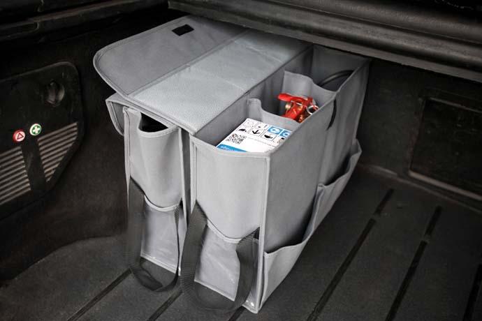 автоорганайзер двойной для багажника