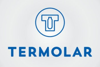 Термос Termolar с колбой из стекла 0,75 литра -  логотип компании-производителя