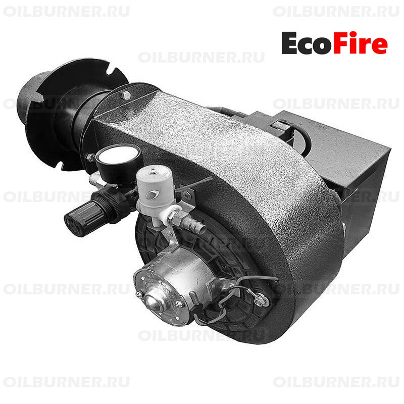 Горелка для печного светлого и темного топлива EcoFire